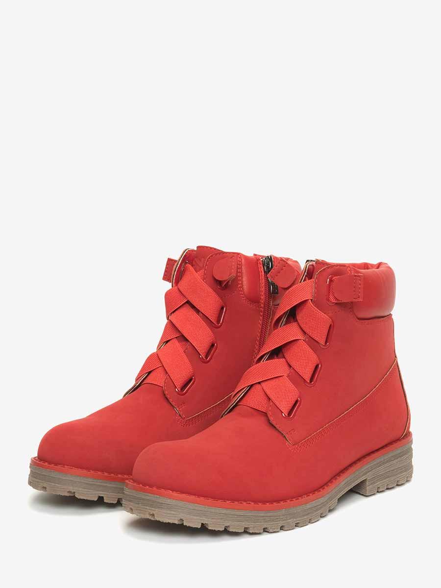 Ботинки детские (для девочек) 598127/10-05 без рядов
