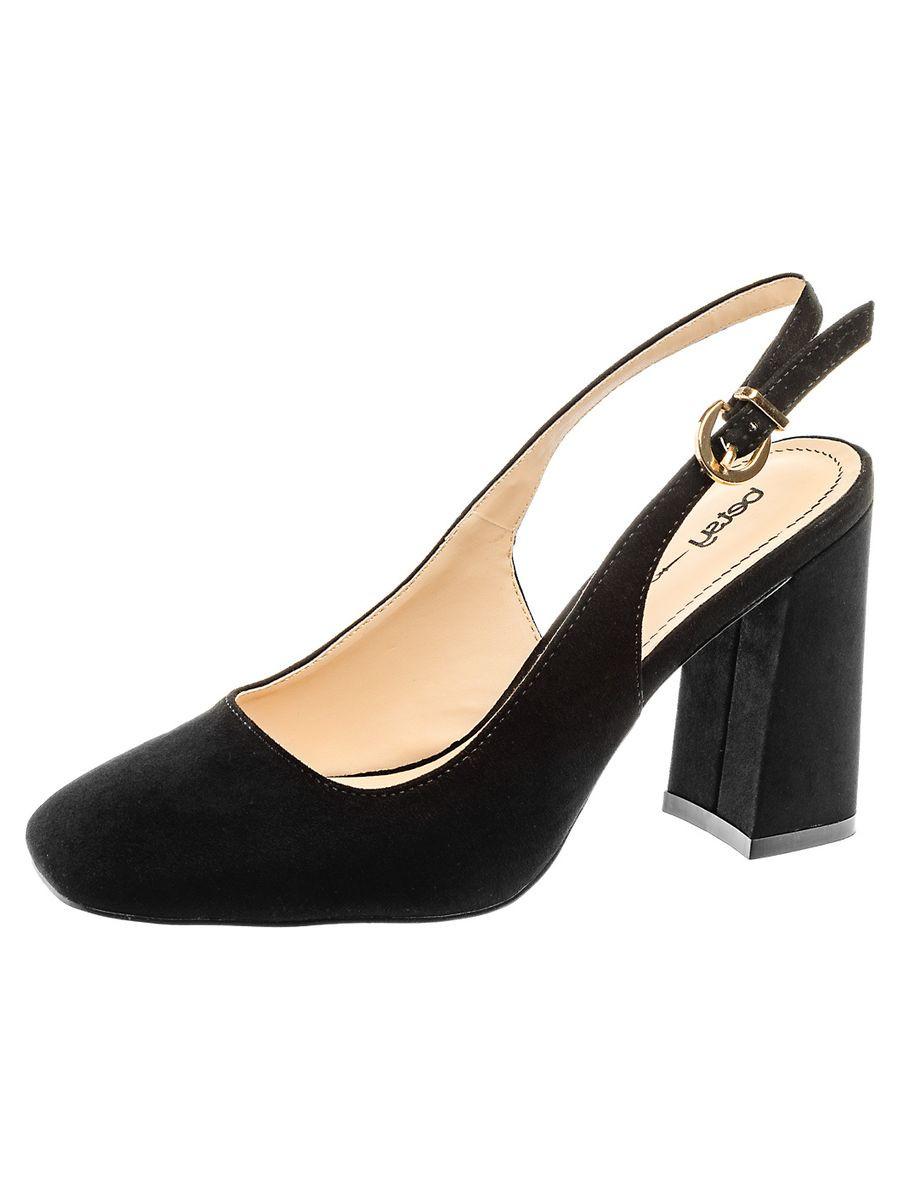 Босоножки на каблуке, женские 987105/01-01 без рядов