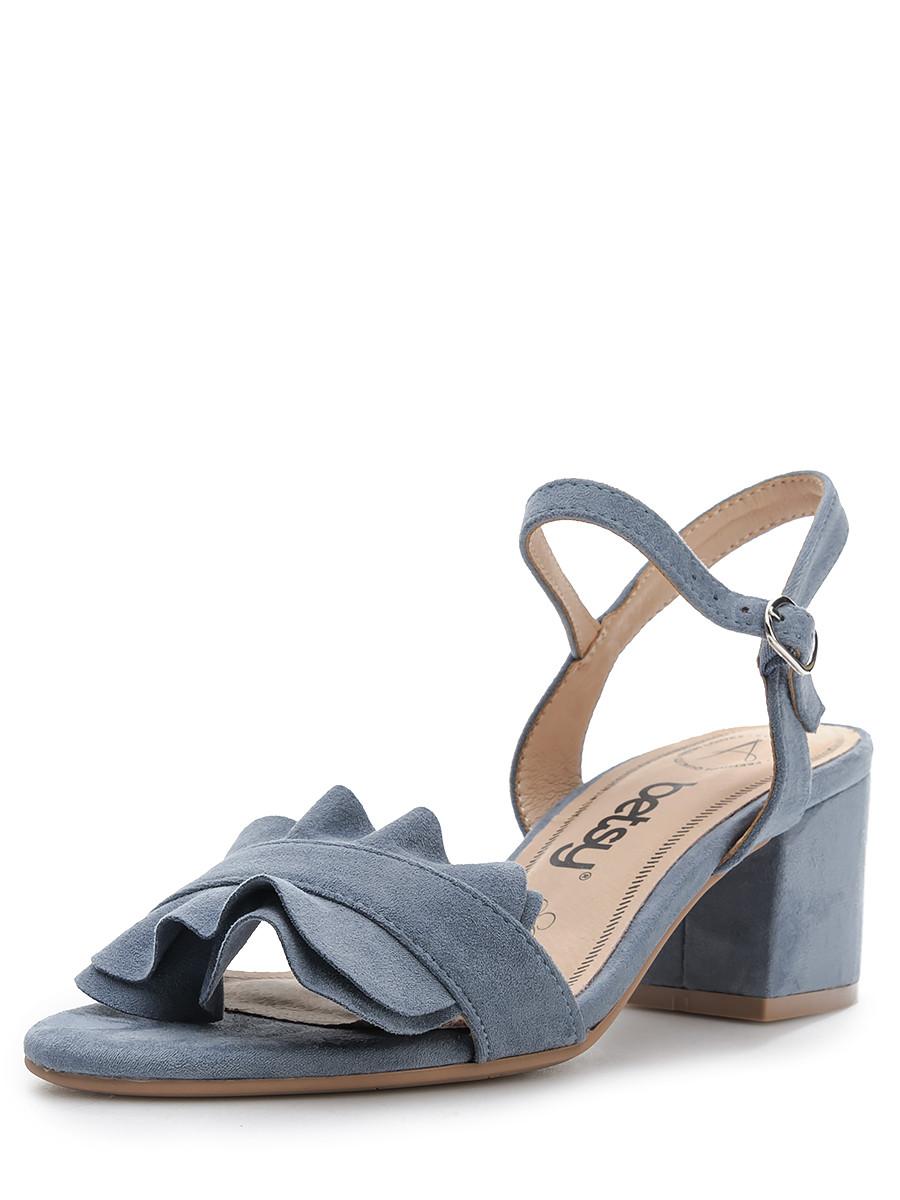 Босоножки на каблуке, женские 997009/02-03 без рядов
