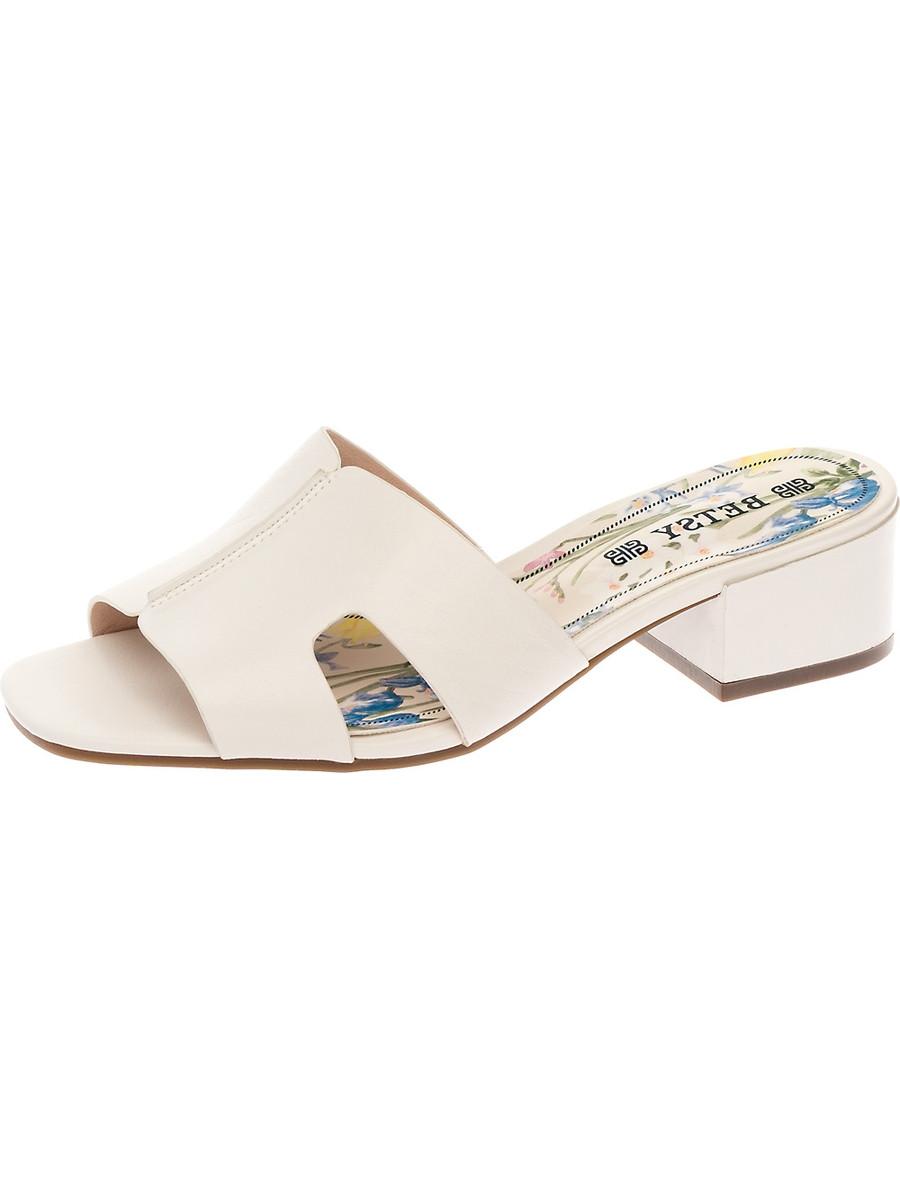Мюли на каблуке, женские 997010/05-03 без рядов