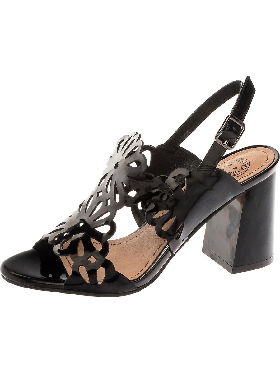 Босоножки на каблуке, женские 997042/04-04 без рядов