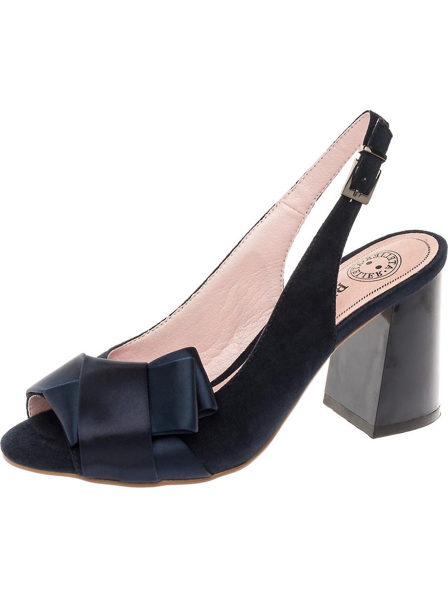 Босоножки на каблуке, женские 997042/05-01 без рядов