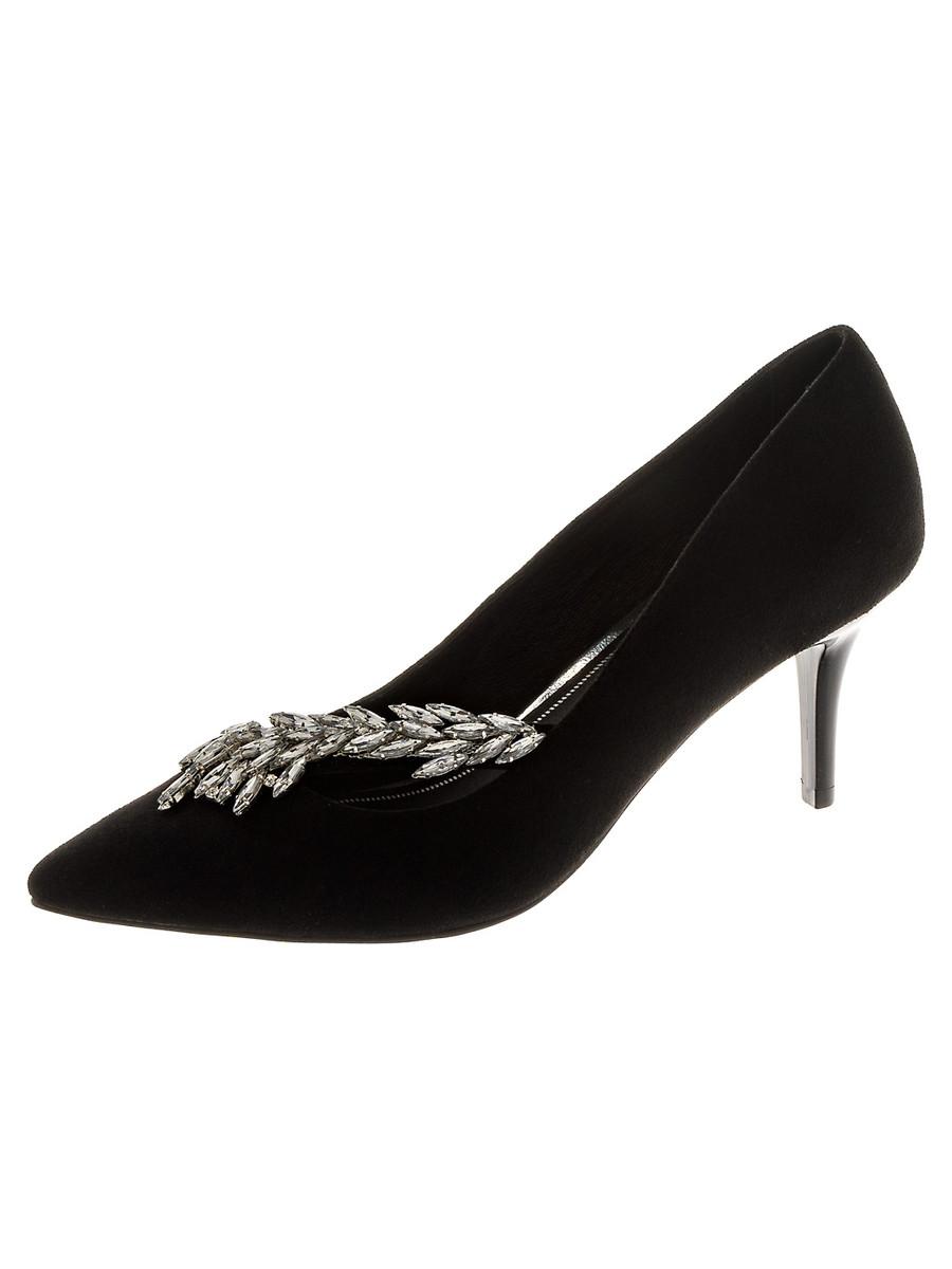 Туфли на каблуке, женские 999001/02-01 без рядов