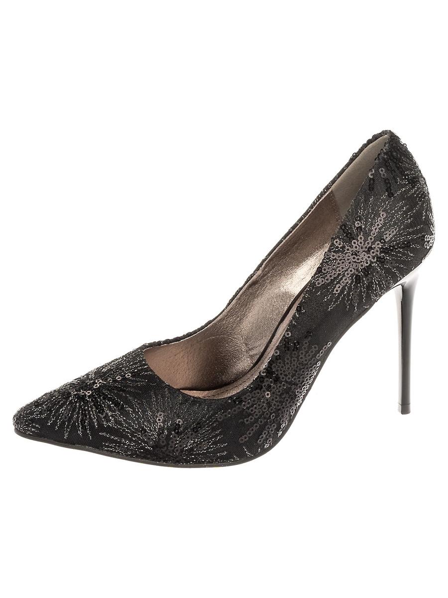 Туфли на каблуке, женские 999002/02-01 без рядов