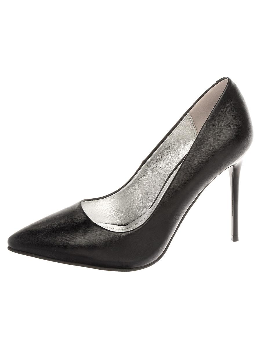 Туфли на каблуке, женские 999002/02-10 без рядов