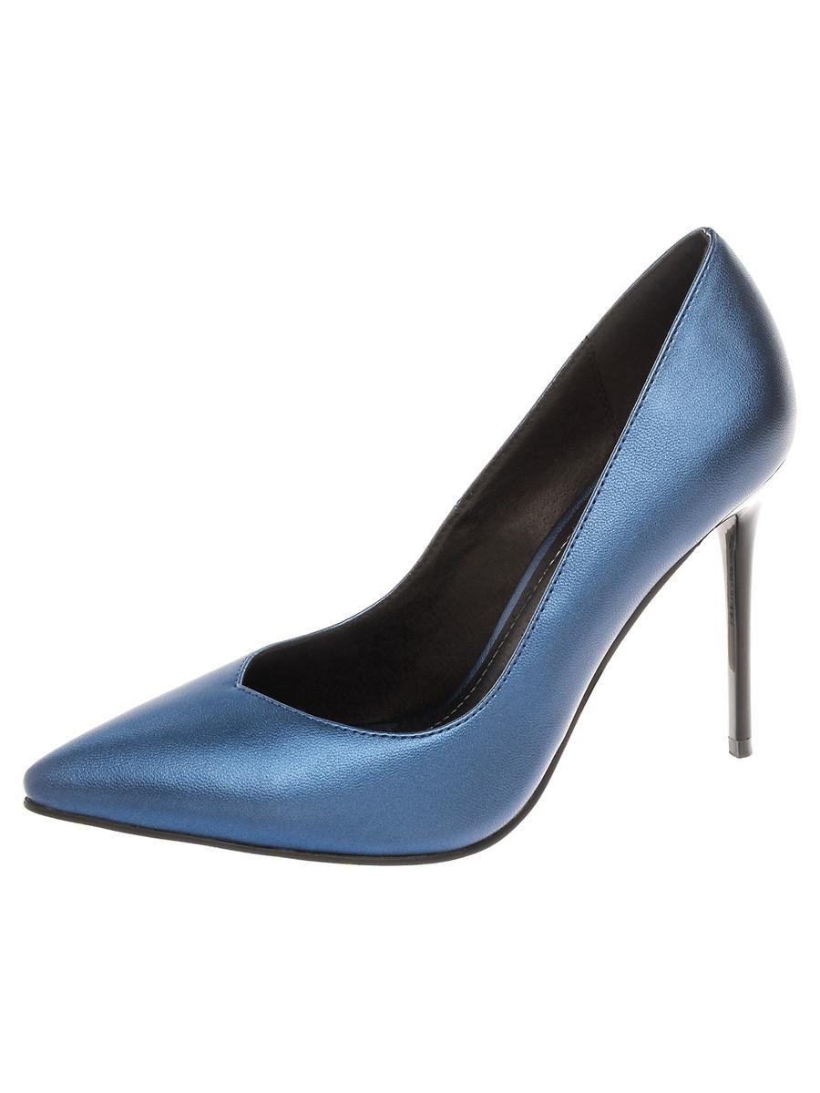 Туфли на каблуке, женские 999002/07-02 без рядов