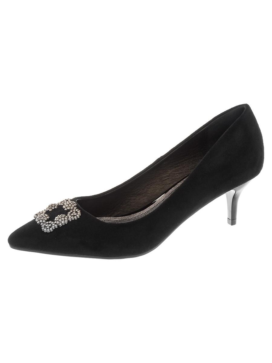 Туфли на каблуке, женские 999005/01-02 без рядов