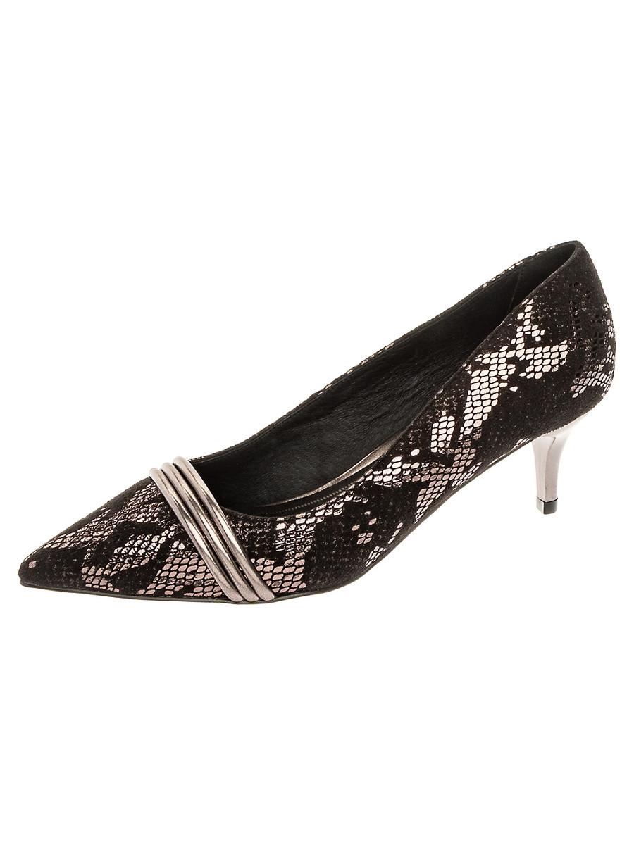 Туфли на каблуке, женские 999005/05-03 без рядов
