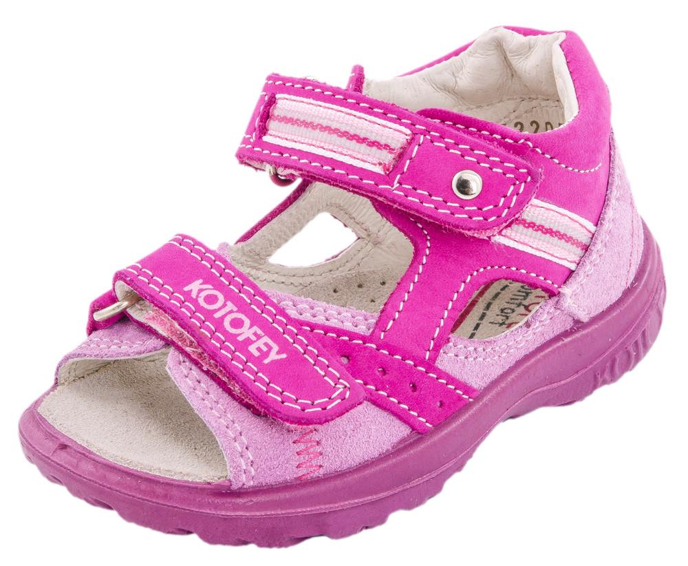 Детские туфли летние Kotf-122059-28