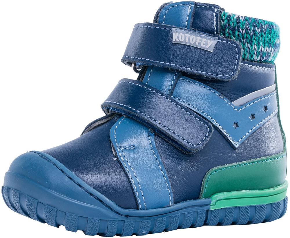 Детские ботинки и сапожки (байка) Kotf-152176-31