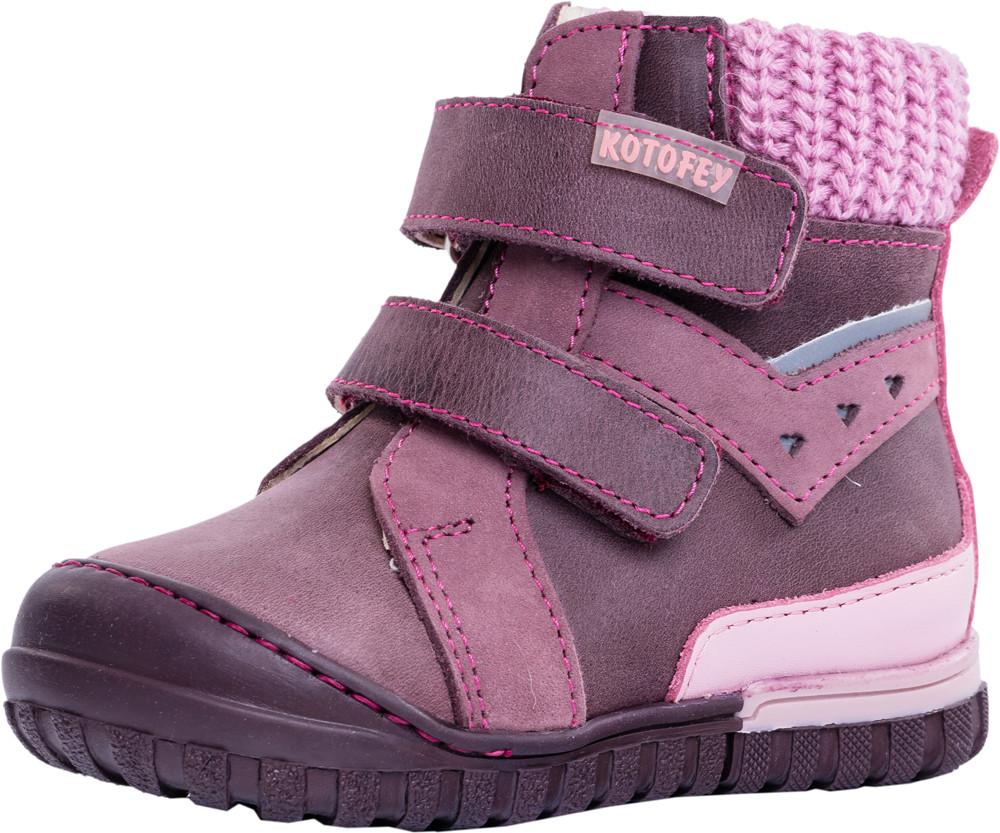 Детские ботинки и сапожки (байка) Kotf-152176-32