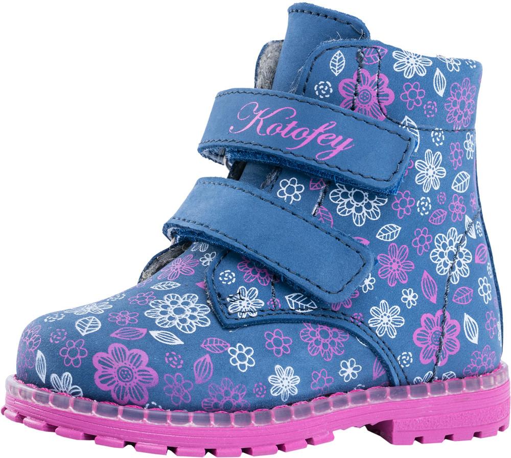Детские ботинки и сапожки (байка) Kotf-152202-31