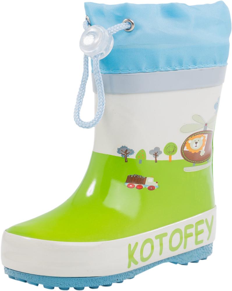 Детские резиновая обувь Kotf-166059-11