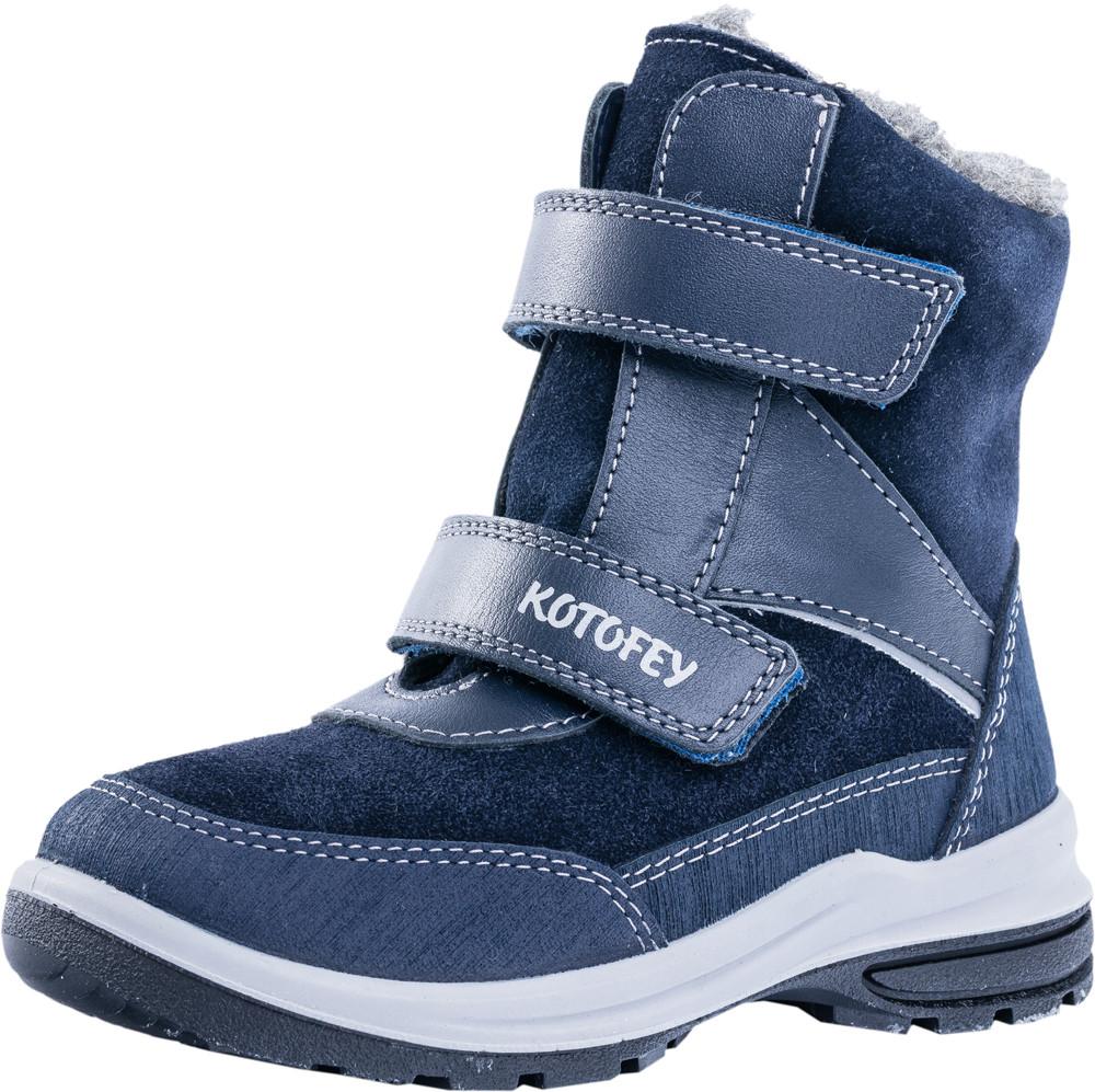 Детские ботинки и сапожки (шерстяной мех) Kotf-252120-42