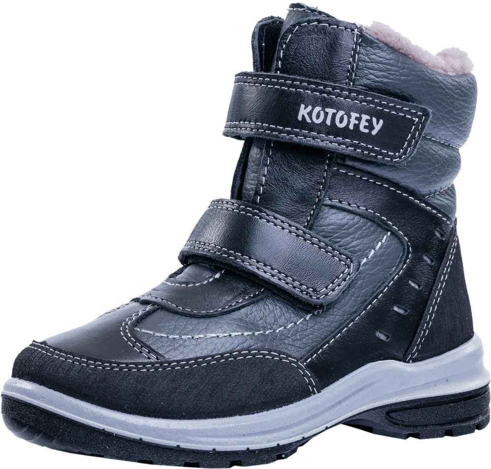 Детские ботинки и сапожки (натуральный мех) Kotf-252121-52