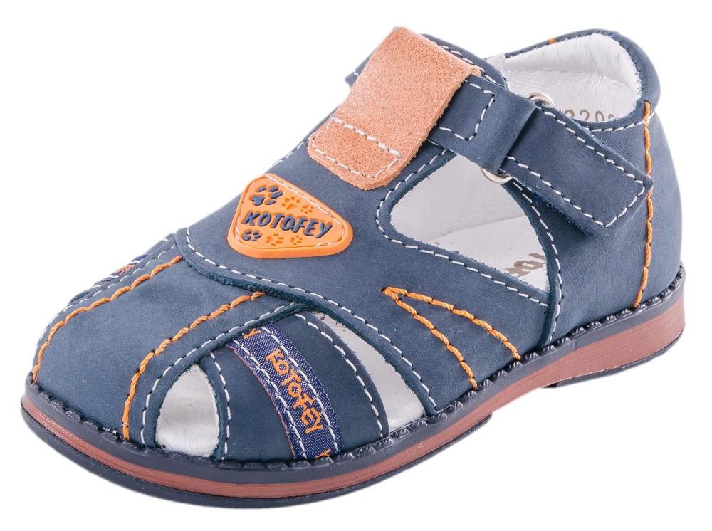 Детские туфли летние Kotf-322002-23
