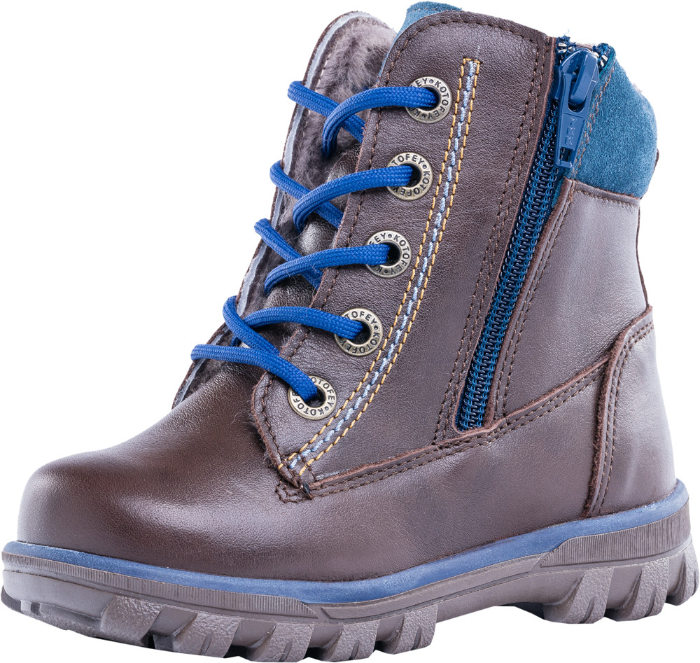 Детские ботинки и сапожки (натуральный мех) Kotf-352071-57