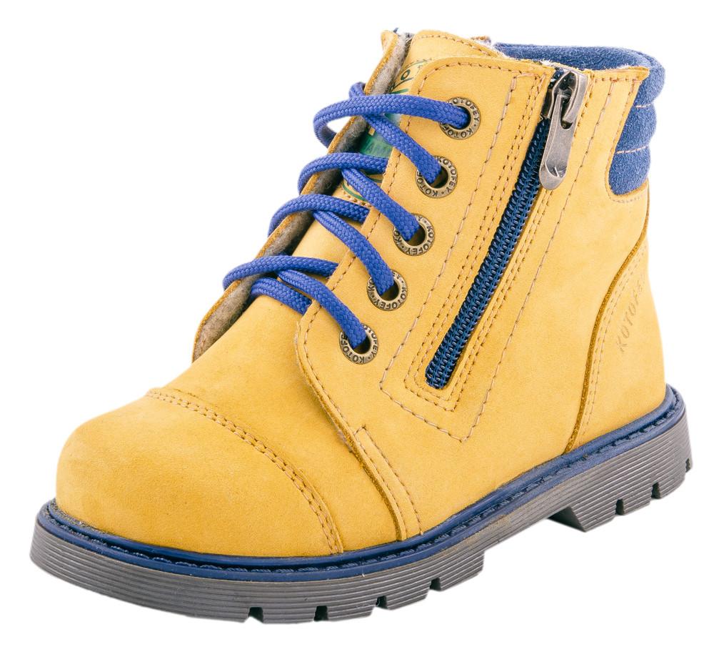 Детские ботинки и сапожки (байка) Kotf-352113-31