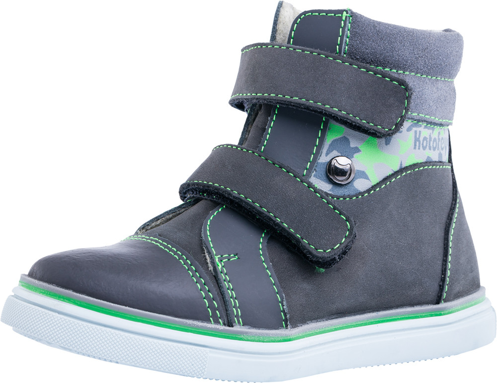 Детские ботинки и сапожки (байка) Kotf-352155-31