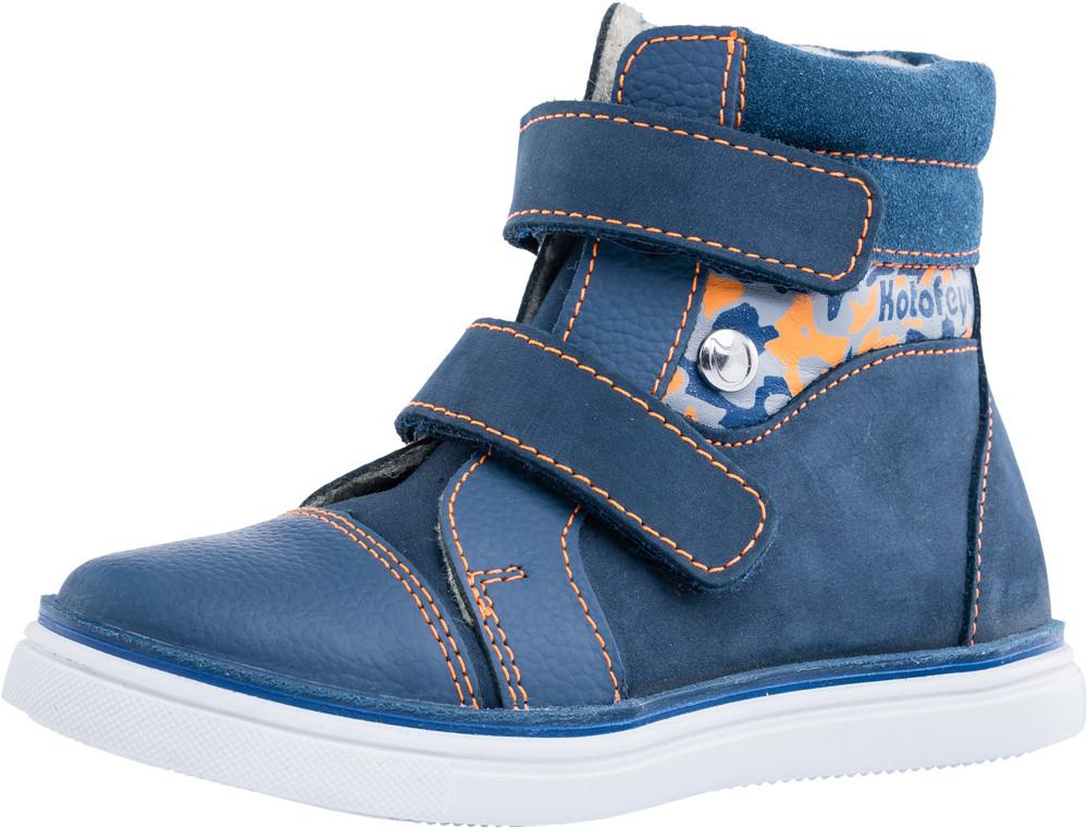 Детские ботинки и сапожки (байка) Kotf-352155-32