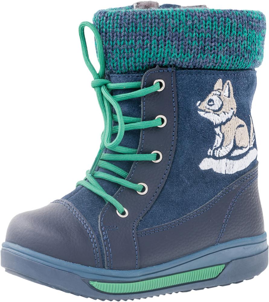 Детские ботинки и сапожки (натуральный мех) Kotf-362084-51