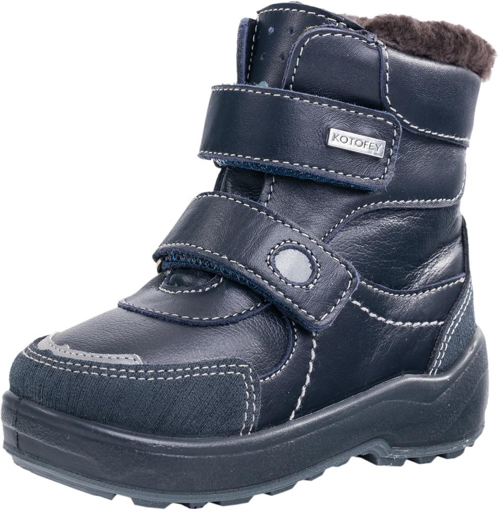 Детские ботинки и сапожки (натуральный мех) Kotf-452087-52