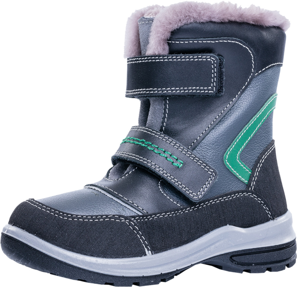 Детские ботинки и сапожки (натуральный мех) Kotf-452101-52