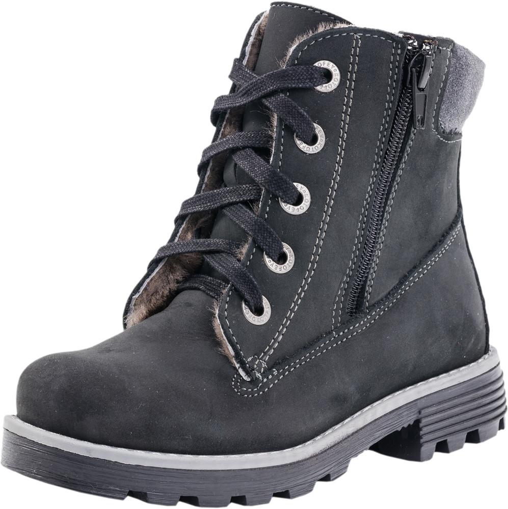 Детские ботинки и сапожки (натуральный мех) Kotf-552063-52