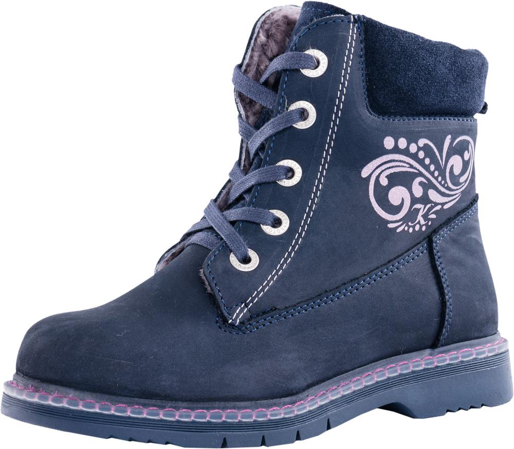Детские ботинки и сапожки (натуральный мех) Kotf-652094-51