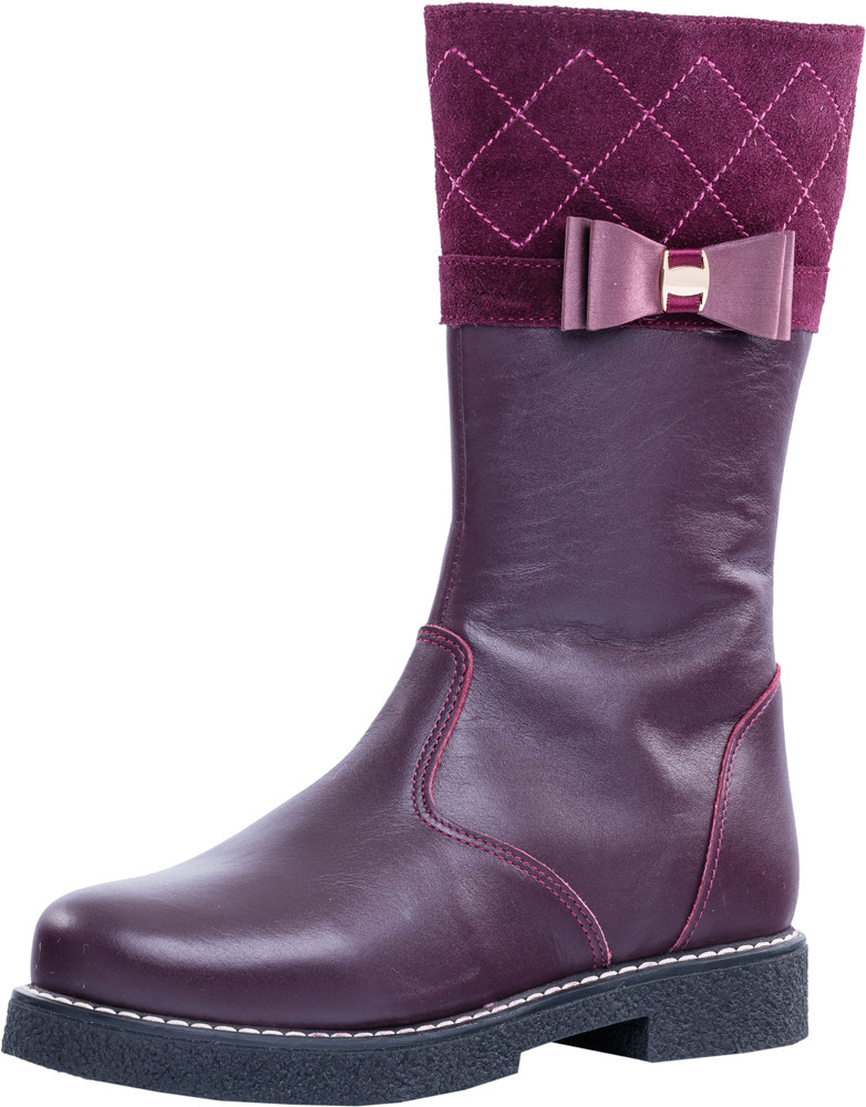 Детские ботинки и сапожки (натуральный мех) Kotf-662130-52